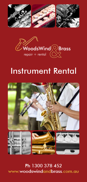 Woodswind and Brass now offers product rental