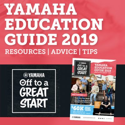 Yamaha Off To A Great Start – Free School Resources